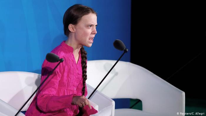 سخنرانی گرتا تورنبرگ در سازمان ملل