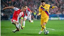 مسی - ليگ قهرمانان اروپا