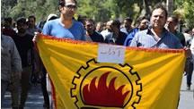 اعتراضات کارگران آذرآب اراک