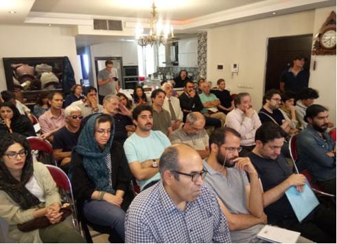 جلسه ی بزرگداشت رضا خندان مهابادی - کانون نویسندگان ایران