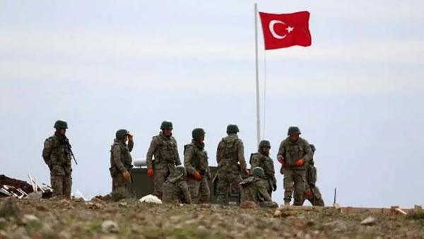نظاميان ترکيه در خاک سوريه