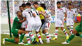 فوتبال ايران و عراق