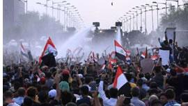 اعتراضات در ميدان تحرير عراق
