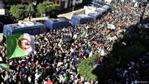 تظاهرات اعتراضی در الجزاير