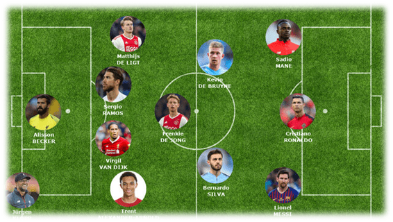 تیم منتخب جهان