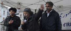گردهمایی ایرانیان در برابر اتحادیه اروپا - بروکسل