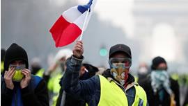 جلیقه زردهای فرانسه: از خیزش بین المللی پشتیبانی کنید!