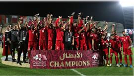 بحرين فاتح جام 24 کشورهای عربی