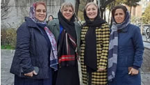 اعضای ندای زنان ايران