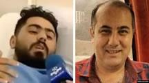 امیر(شاهپور) اوجانی (سمت راست) و محمد ملکی