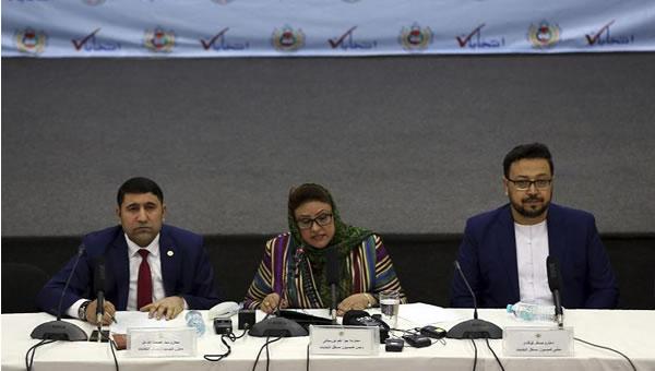 اعلام نتايج انتخابات افغانستان
