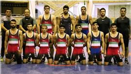 قهرمانی کشتی فرنگی ايران در آسيا