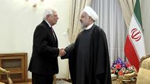 سفر بورل به تهران