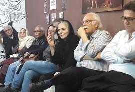 اجرای مستند روز لوکزامبورگ توسط گروه تاتر اگزیت در تهران