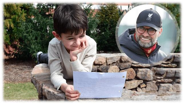 نامه نوجوان ده ساله منچستری به یورگن کلوب مربی لیورپول