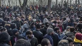 رنج آوارگان سوری در برزخ سرد ترکیه و یونان