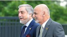 افغانستان؛ دو مراسم تحليف در ارگ و سپيدار!
