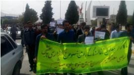 کارگران معادن ذغالسنگ کرمان