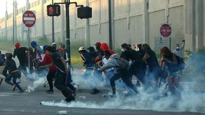 گسترش اعتراض های ضدنژادپرستانه به شهرهای مختلف آمریکا