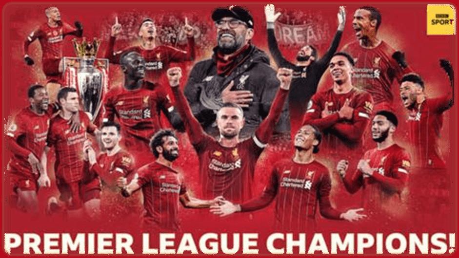 Liverpool win Premier League: Reds' 30-year wait for top-flight ...