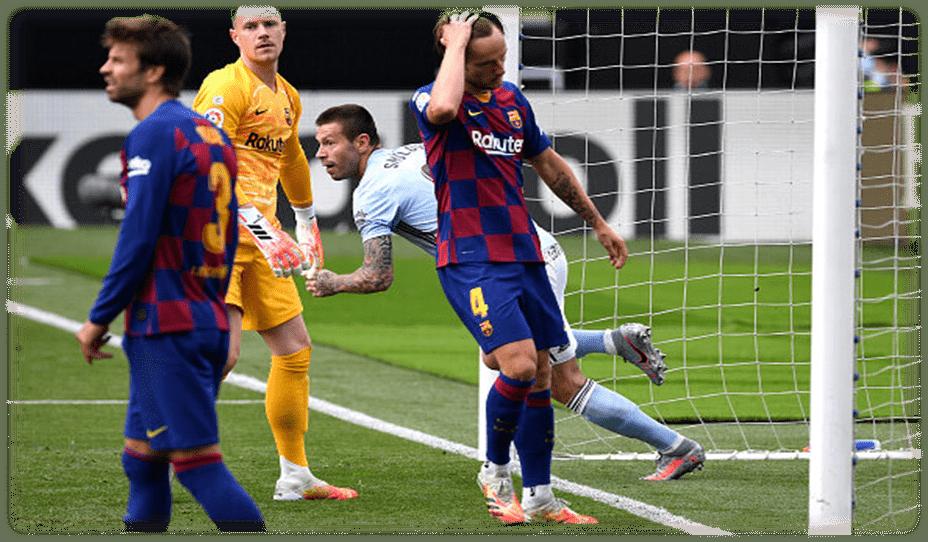 بارسلونا دو امتیاز مهم دیگر از دست داد