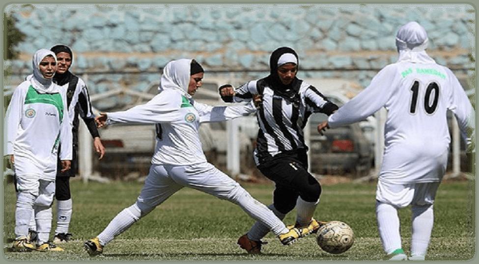 هفته پانزدهم لیگ برتر فوتبال زنان و دربی تیمهای کرمانی - ایرنا