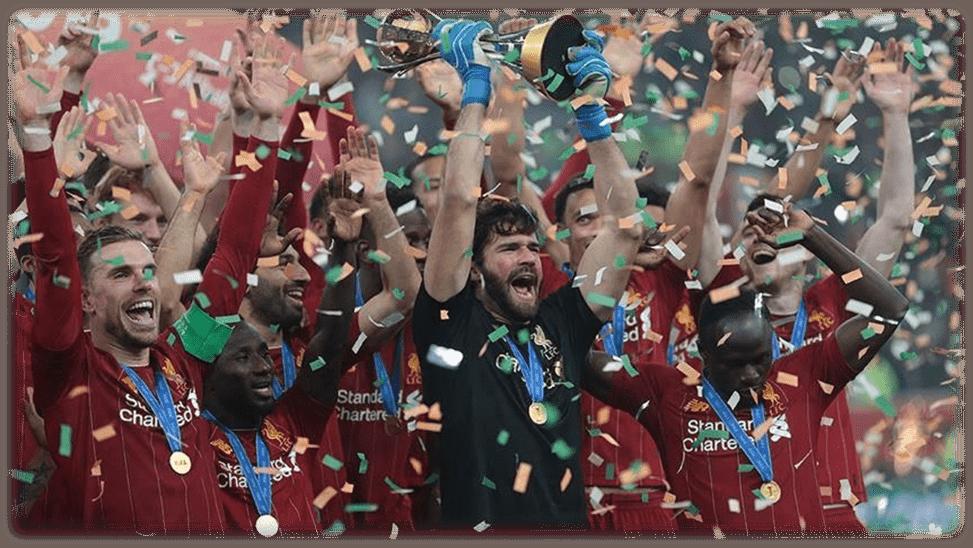 Football: Liverpool win Premier League title
