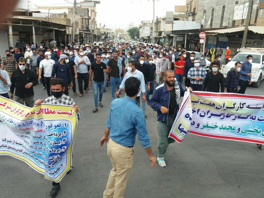 بیست و چهارمین روز اعتصاب کارگران هفت تپه