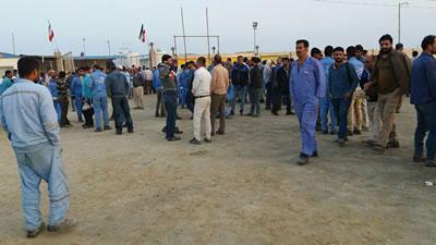 اعتصاب کارگران نفت و گاز و پتروشيمی