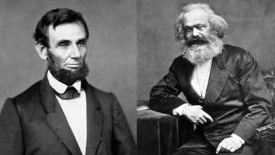 وقتی که مارکس به لینکلن تبریک می گوید - الکسیا بلن، ترجمه ی: رسول آذرنوش
